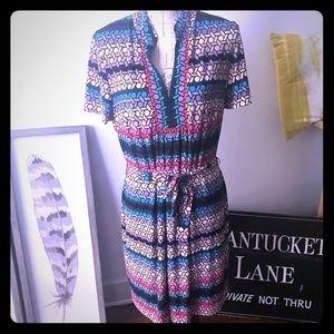 Trina Turk multi color dress
